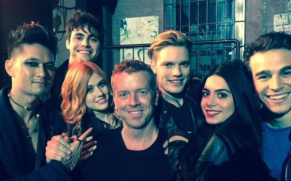 Brand new videos from the 'Shadowhunters' set