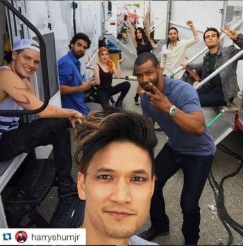 cast selfie