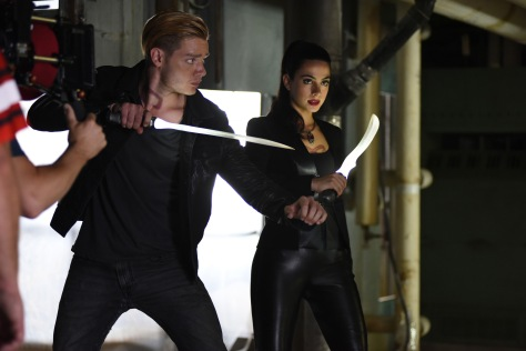 DOMINIC SHERWOOD, EMERAUDE TOUBIA